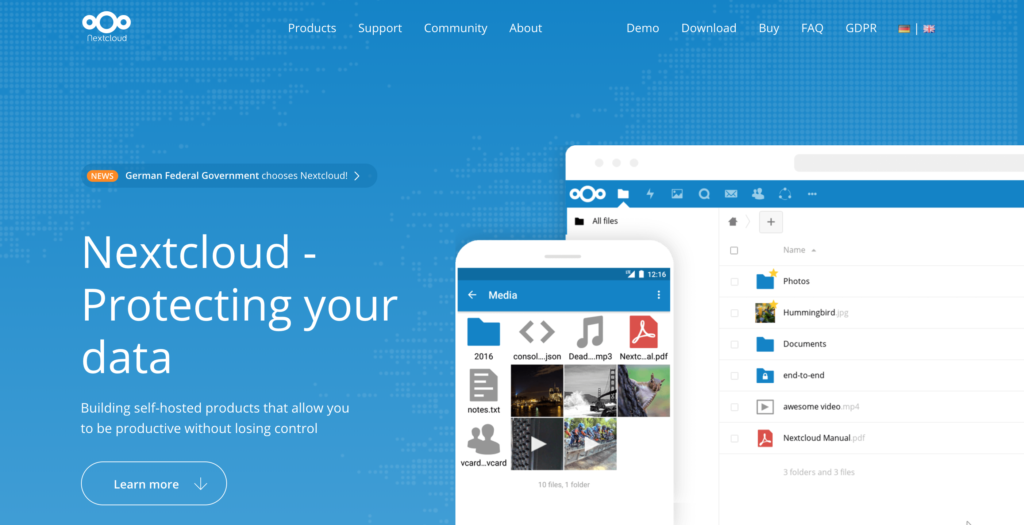 Nextcloud Storage