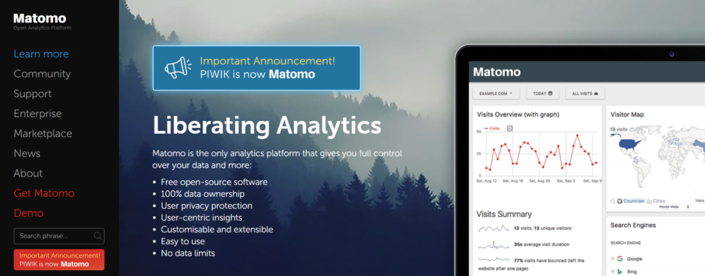 Matomo Analytics